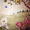 photo of fairy mural