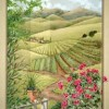 Trompe L'oeil murals, Tuscan scene murals, idea for painting nooks, Mickey Baxter-Spade murals
