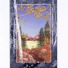 picture of a greeting card with Colorado scenery