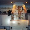 photo of kitchen hood mural